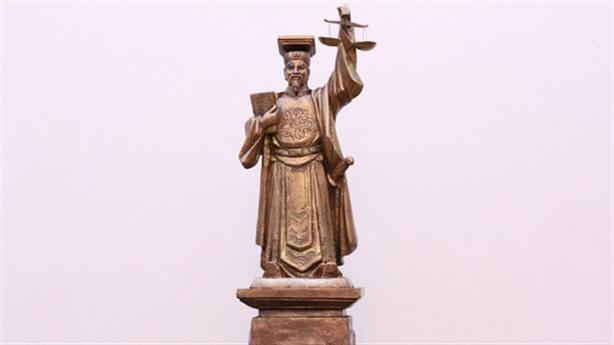 TAND chọn tượng vua Lý Thái Tông là biểu tượng công lý