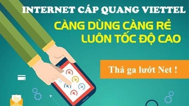 Những gói cước internet cáp quang Viettel giá rẻ cho gia đình