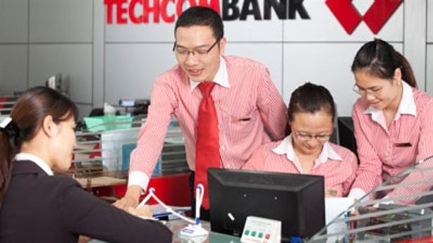Techcombank lợi nhuận trước thuế đạt 3,1 nghìn tỷ