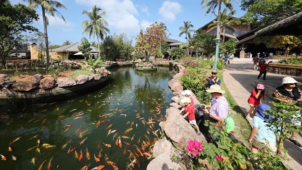 Sun World Hon Thom Nature Park đón khách trở lại từ 30/4