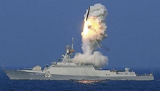Hạm đội Biển Đen bắn Kalibr và Moskit