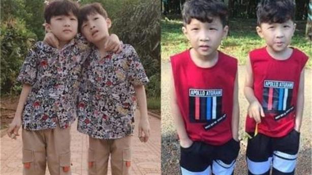 Hai bé trai sinh đôi mất tích: Bất ngờ hai xe ôtô