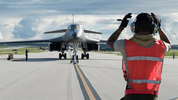 Mỹ dùng chiến thuật mới khi điều B-1 Lancer đến Guam