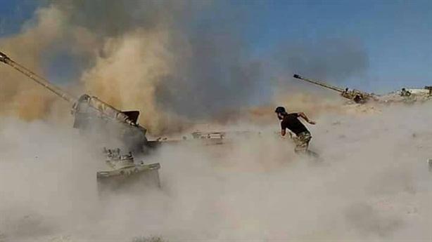 SAA trút bão lửa đòi lại vị trí nam Idlib