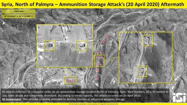 Israel dùng tên lửa hạng nặng Popeye tấn công Syria