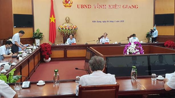 Công bố kết luận thanh tra đất đai tại Kiên Giang