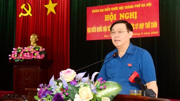 Bí thư Hà Nội nói về quy hoạch hai bên sông Hồng