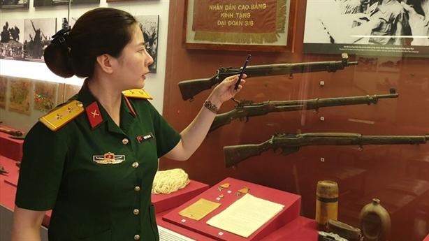 Những kỷ vật vô giá về chiến thắng Điện Biên Phủ