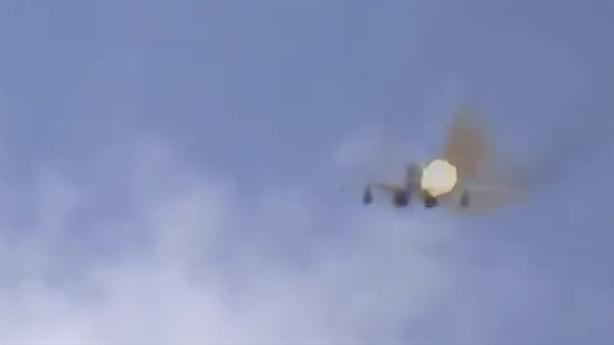 MiG-29 Syria bắn rụng UAV đang quay phim