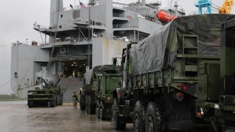 Mỹ đưa tàu đổ bộ tới Venezuela trong tình hình nóng
