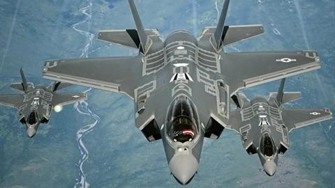 Mỹ rút F-35 khỏi Trung Đông khi radar Container Nga hoạt động?
