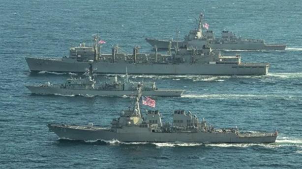 Nhóm tàu Mỹ rời Biển Barent khi Nga bắn đạn thật