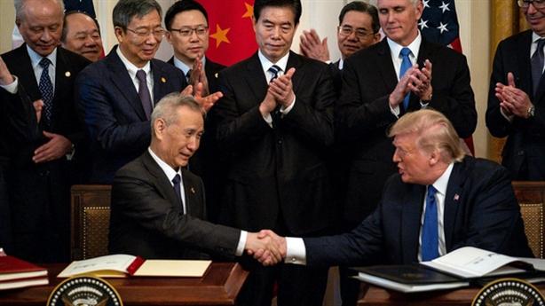 Thỏa thuận thương mại Mỹ-Trung đứng bên bờ vực đổ vỡ