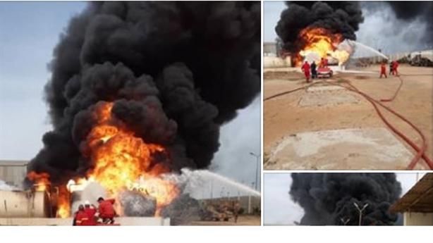 Căn cứ không quân Thổ chìm trong biển lửa