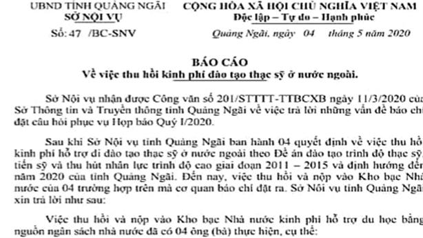 Con quan du học bằng ngân sách không về: 'Phải chờ...' - DVO - Báo Đất Việt