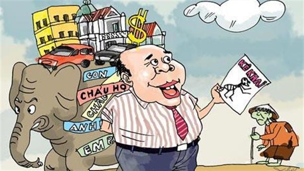 Bốc thăm xác minh tài sản: Đừng để thấy toàn người nghèo