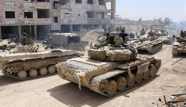 SAA tại Euphrates chống đợt tấn công khủng khiếp của IS