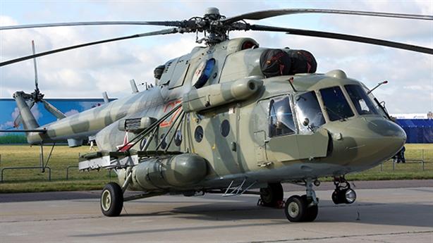 Trực thăng Mi-8 bị tai nạn ở khu vực Moscow