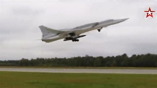 Tu-22M3 tuần tra Biển Đen với 'sát thủ' nặng hơn 5 tấn