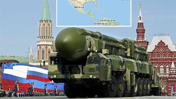 Vũ khí hạt nhân sát sườn Nga, 'khủng hoảng 1962' tái hiện