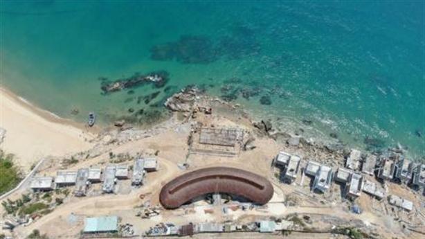 Xử phạt loạt bất động sản ven biển Bình Định