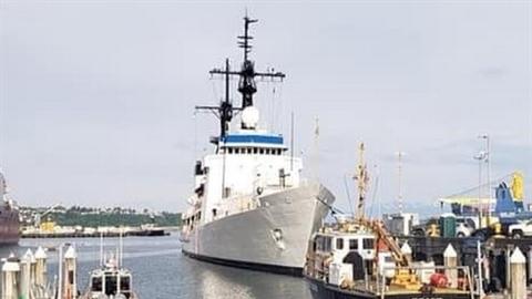 Tàu John Midgett đã sẵn sàng bàn giao cho Việt Nam