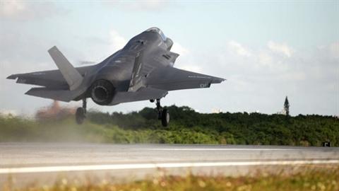 F-22 và F-35 rơi cùng khu vực cách nhau vài ngày