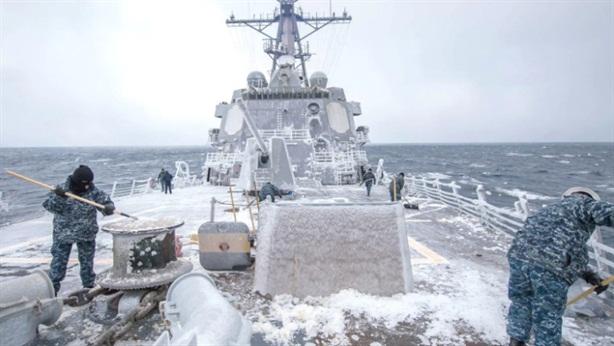 Chiến hạm Aegis Mỹ không thể khai hỏa tại Bắc Cực