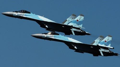 Su-35 xuất hiện khi LNA tấn công quân Thổ