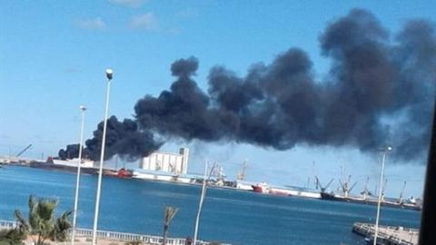 Tiêm kích không xác định bắn cháy tàu chiến Thổ Nhĩ Kỳ?