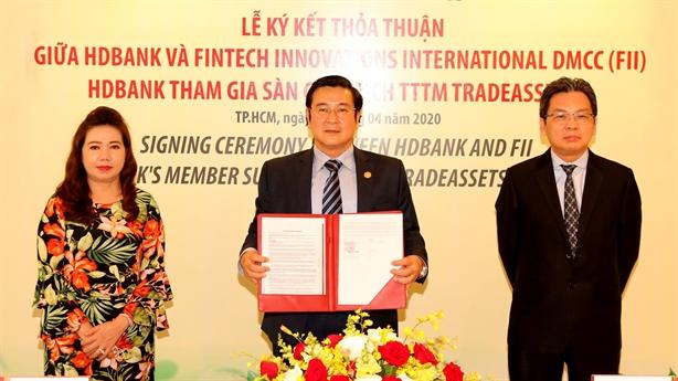 HDBank-tham gia Sàn Giao dịch Điện tử Tài trợ thương mại TradeAssets