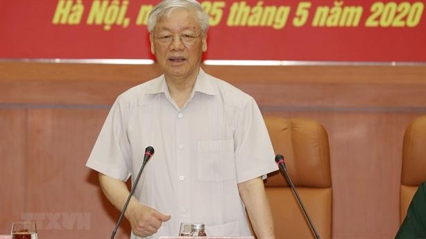 Tổng Bí thư chỉ đạo Hội nghị Quân ủy Trung ương