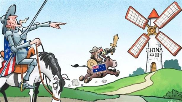 Úc mắc kẹt với cạnh tranh Mỹ-Trung