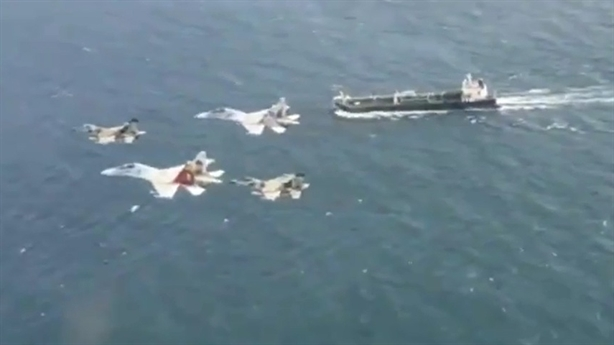 Video Venezuela dùng F-16 và Su-30 bảo vệ tàu dầu Iran