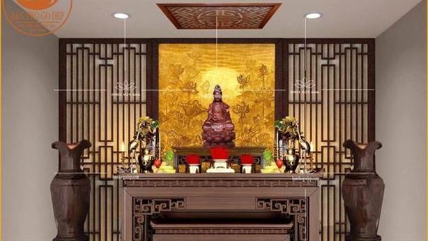 4 lưu ý khi chọn mua bàn thờ cho gia đình Việt
