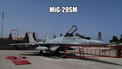 Bức ảnh MiG-29SM: Nga xóa số hiệu để cấp cho Libya?