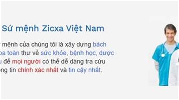 Zicxa Việt Nam: Bách Khoa Toàn Thư Sức Khỏe-Bệnh Học-Thảo Dược