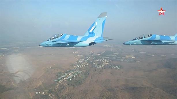 Yak-130 lập công lớn ngay trong lần đầu xuất chiến