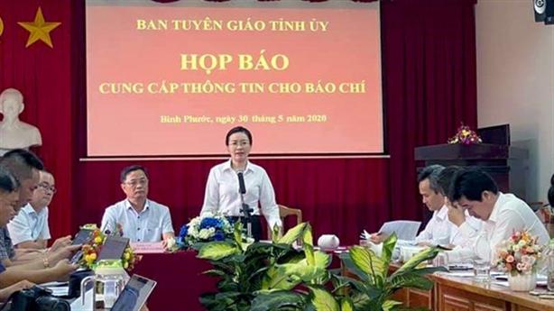 Thông tin nóng vụ chết tại trụ sở TAND tỉnh Bình Phước