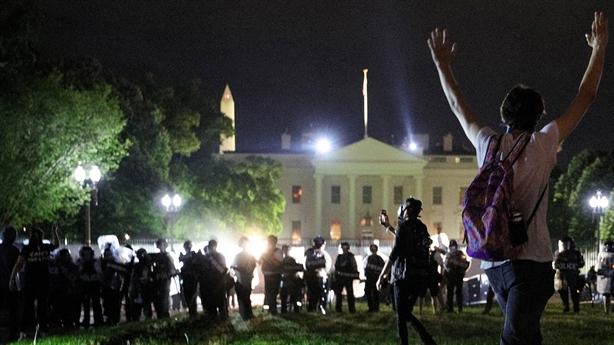 Tổng thống Trump cảnh báo người biểu tình ở Nhà Trắng