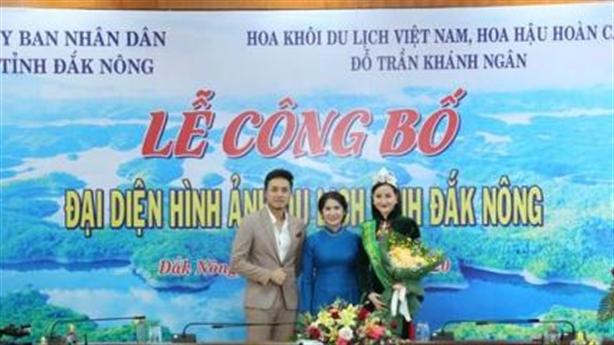 HH Khánh Ngân làm đại diện hình ảnh du lịch Đắk Nông