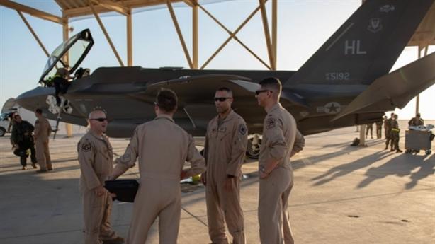 F-35 luyện đòn 'quái thú' ngay khi quay lại Trung Đông