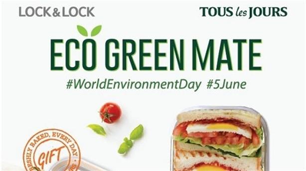 Lock&Lock và Tous les Jours phát động chương trình 'Eco Green Mate'