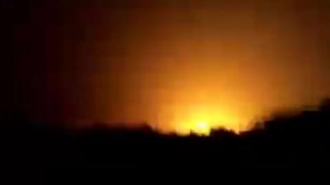 Khó hiểu vụ nổ lớn gần căn cứ Hmeimim