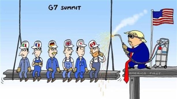 Nga không cần bánh vẽ G7