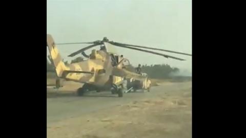 GNA bắt giữ hàng chục xe tăng và cả trực thăng Mi-35