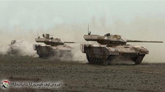 T-14 Armata: Hàng 'hot' giá rẻ đã qua thử lửa Syria