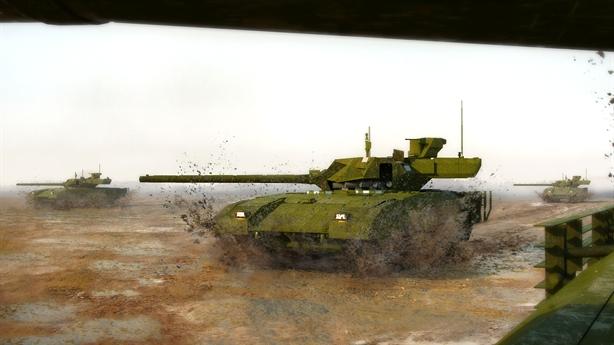 Nga bán tăng Armata rẻ bằng một nửa Challenger 2 của Anh