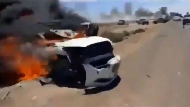 MiG-29 LNA diệt gọn đoàn xe quân sự Thổ hậu thuẫn