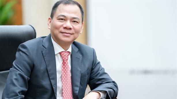 Ông Phạm Nhật Vượng muốn đưa Vingroup vươn tầm quốc tế